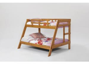 The Heartland Twin/Full A Frame Solid Pine Bunk Bed