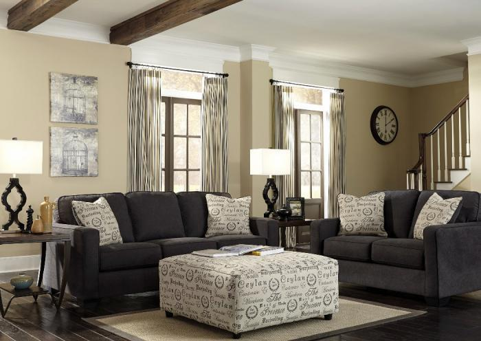 Amari Sofa and Loveseat,Jaron's Showcase