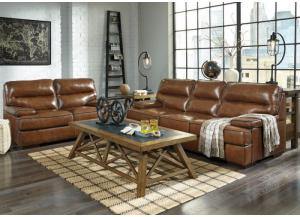 Palmer Leather Sofa and Loveseat 2 FLOORSAMPLES LEFT