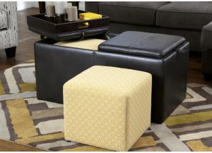 Athena Storage Ottoman with 2 Cubes