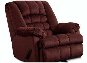 Mailbu Wine Power Rocker Recliner