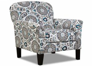 Grandstand Flannel Accent Chair