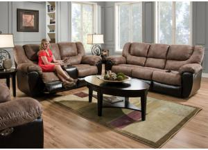 Bandera Reclining Sofa and Reclining Loveseat LIMITED QUANTITY-SOLD AS 2 PIECE SET ONLY