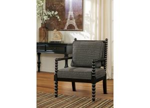 Milan Wood Accent Chair
