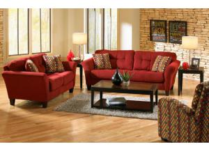 Haley Sofa and Loveseat