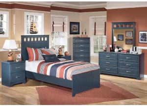 Summer Breeze Twin Panel Bed