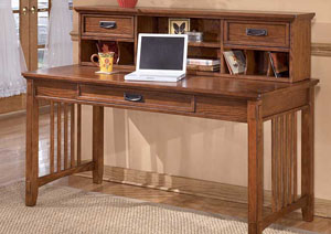 Cross Island Short Desk Hutch