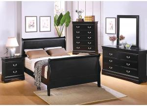 St. Laurent Full Sleigh Bed