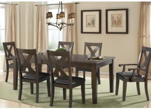 Copper Ridge Table and 6 Chairs