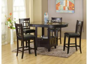 Pub Table with 4 Stools - D220