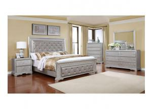 B6171 Queen bed, Dresser, Mirror, 1 Night Stand