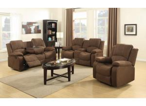 U3118 RECLINING SOFA & RECLINING LOVESEAT