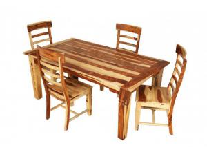 5pc Tahoe Rect Dining Set,Porter International Designs
