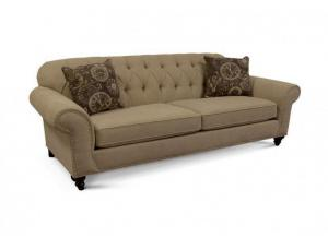 Stacy Sofa (Customizable Body and Pillow Fabrics)