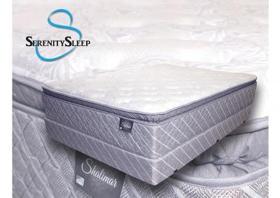Shalimar Gel Pillow Top Twin Set