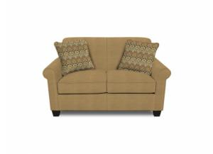 Angie Loveseat (Customizable Body and Pillow Fabrics)