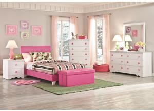 Savannah Collection Lavender Twin Platform Bed