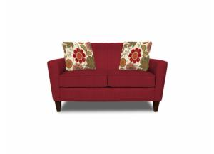 Collegedale Loveseat (Customizable Body and Pillow Fabrics)