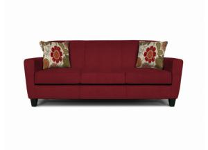 Collegedale Sofa (Customizable Body and Pillow Fabrics)