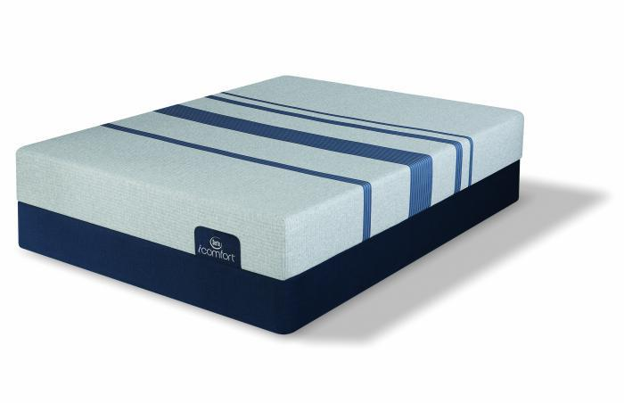 Serta iComfort Blue 100 Queen Gentle Firm Mattress Set,Serta