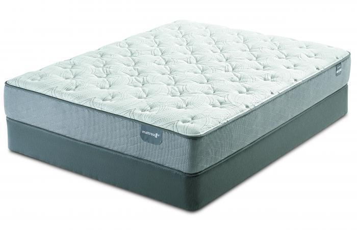 Serta Dickinson Plush Twin Mattress Set,Serta