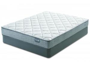 Serta Casselbury Plush Full Mattress & Boxspring