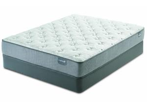 Serta Dickinson Plush Full Mattress Set