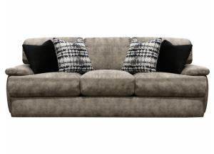 England Del Mar Newport Sofa with Hog Heaven Fig Fabric