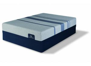 Serta iComfort King Blue Max 1000 Plush Mattress Set