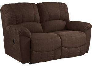 LA-Z-BOY Hayes Loveseat in Mocha