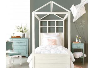 Magnolia Home Twin Canopy Bed