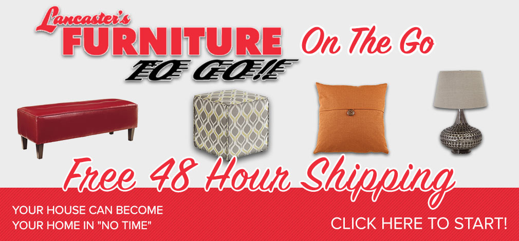 Furniture to Go On the Go Shipping