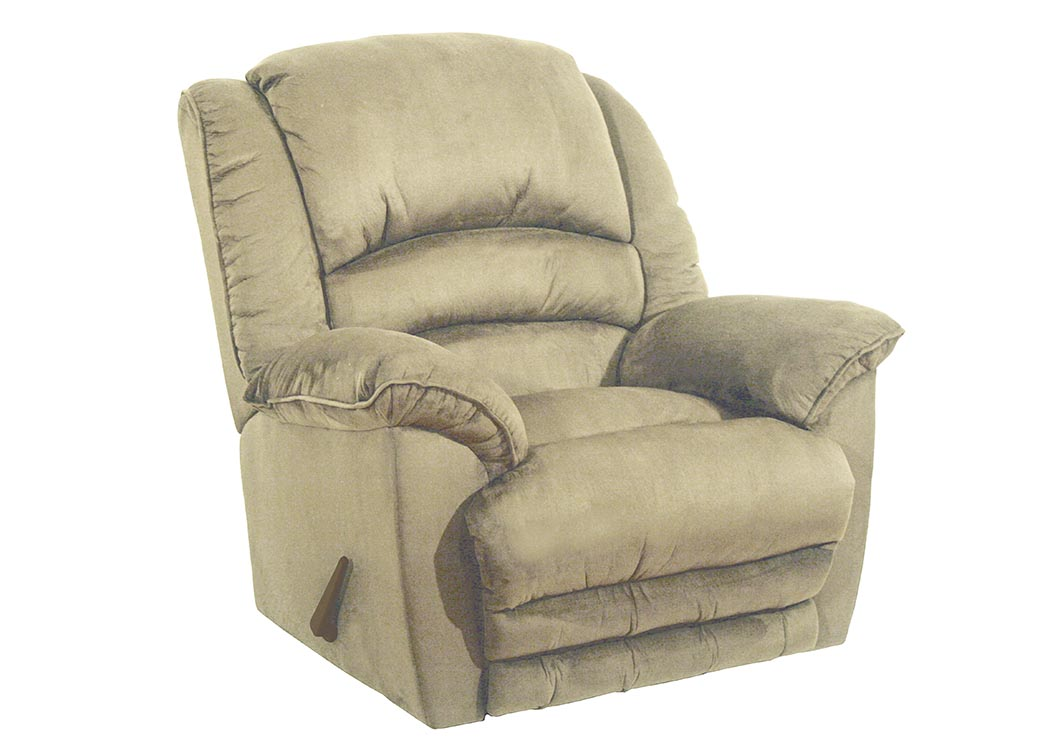 Hazelnut Chaise Rocker Recliner,Catnapper