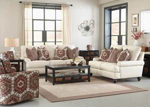 Westchester Chilipepper Sofa and Loveseat