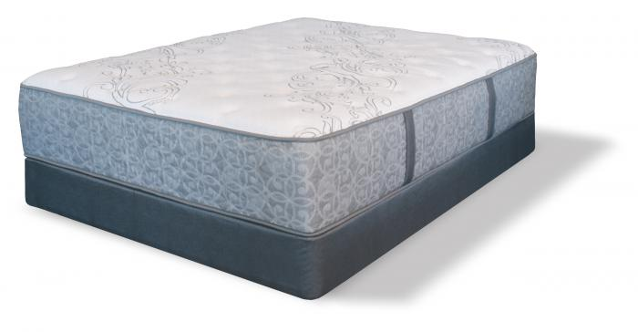 Serta Tomkins Queen Plush Mattress w/ Foundation,Serta