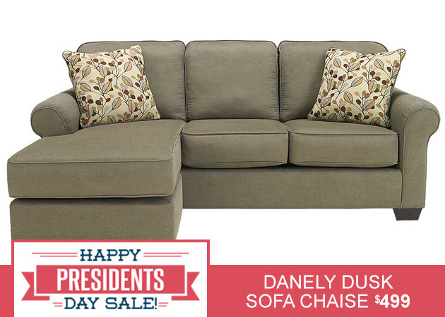 Danely Dusk Sofa Chaise