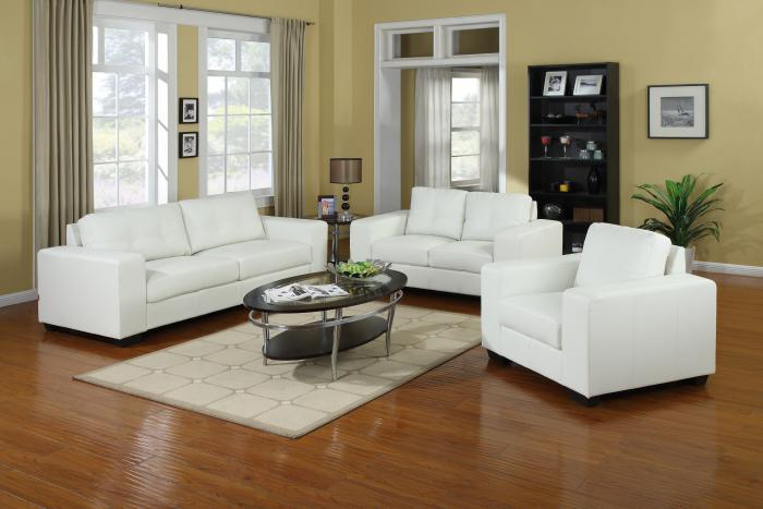 Pisa Pellissima White Sofa & Loveseat,Lifestyle Distribution