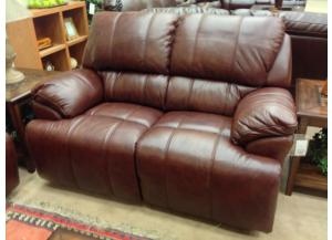 Miranda Chestnut Power Love Seat