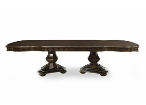 La Bella Vita Extendable Double Pedestal Table
