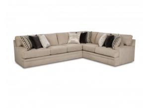 Bellamy Taupe 2-Piece Sectional