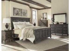 Calistoga Queen Panel Bed,Lifestyle Distribution