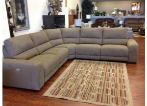 Nathan 5 Piece Power Reclining Sectional