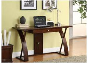 Super Z Writing Desk In Cocoa