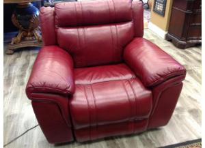 Burgundy Chiara Power Recliner