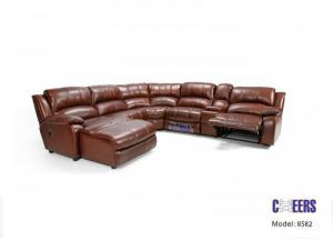 Terry 5-Piece Sectional With Right Side Facing Incliner Chaise