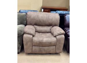 Texas Jack Tan Glider Recliner