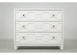 Matrix Accent Chest-Polar White