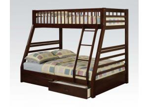Jason Twin Over Full Bunk Bed with pull out drawers