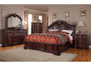 Arlington Upholstered Panel King Bed