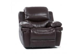 Sienna Dark Brown Power Recliner